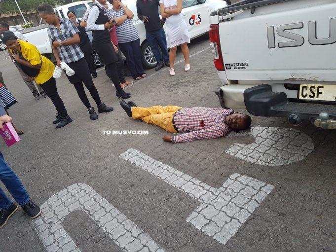 Men shot in failed robbery - Musvo Zimbabwe
